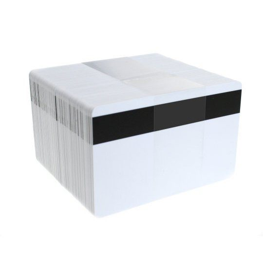 blank plastic cards with lo co magnetic stripe pack of 100 - Blank Plastic Cards