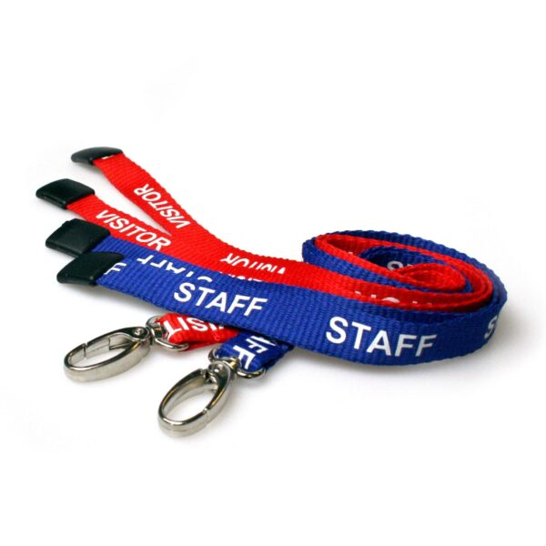 Pre-printed Lanyards With Metal Hook