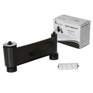 SMART 30/50 BLACK MONO PRINTER RIBBON & CLEANING ROLLER