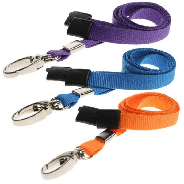 Plain Lanyards metal clip