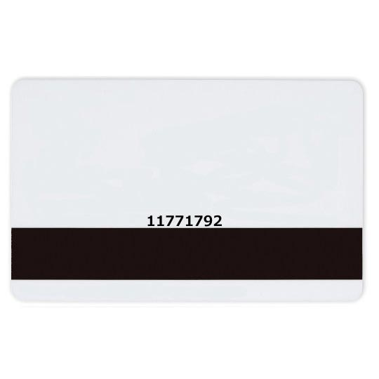 TDSI 8 Digit Microcards in Plain White