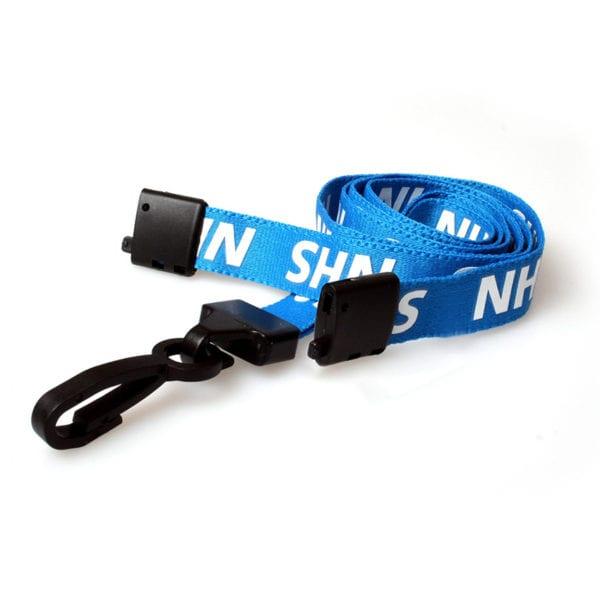 NHS Lanyards - Plastic J Clip