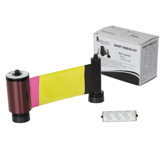 SMART 30/50 YMCKO FULL COLOUR PRINTER RIBBON