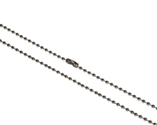 Metal Bead Chain Necklace